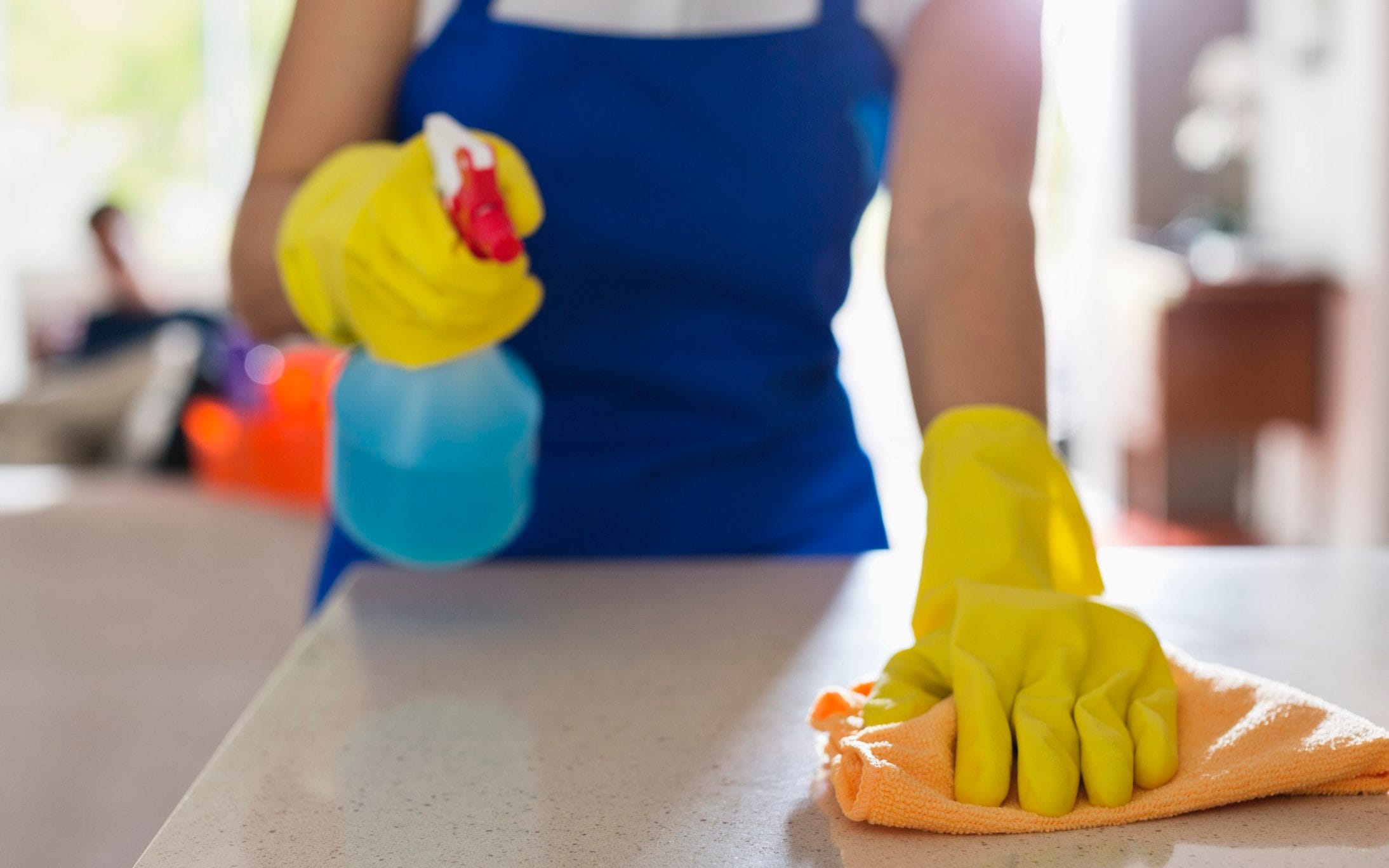 Disinfect your home cleaning service